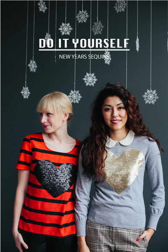 DIY Sequin Sweater from Say Yes to Hoboken