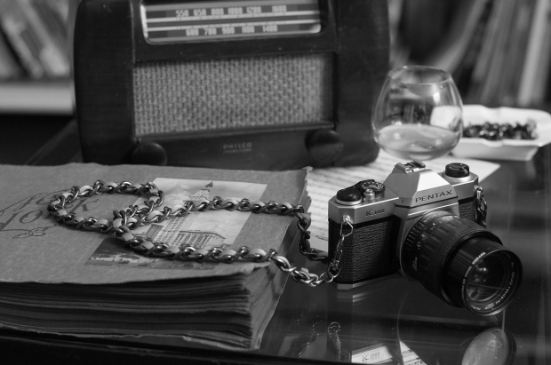Film Noir Camera Strap