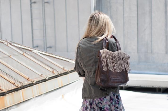 Fringe Bag DIY
