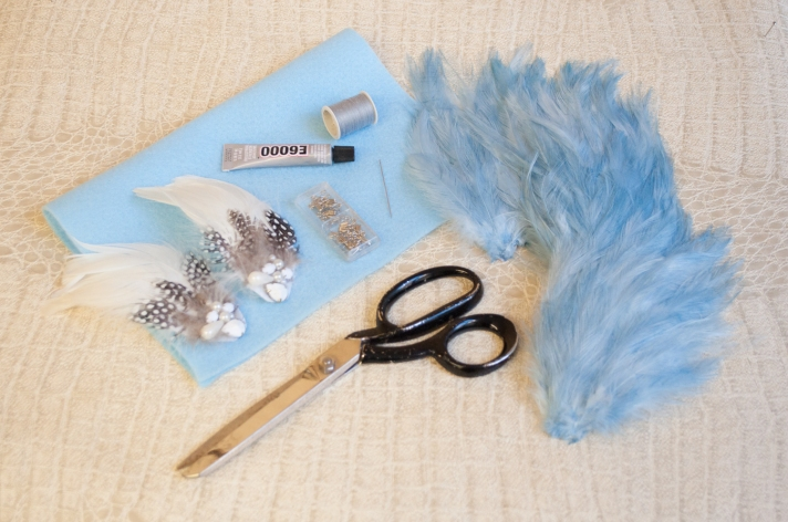 Materials for Feather Collar