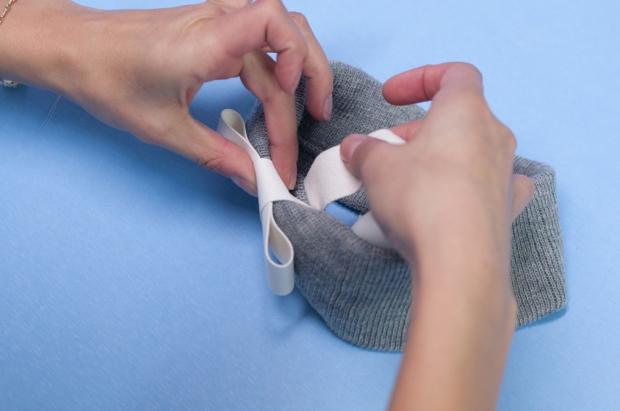 Warm Winter Headband DIY Leather Wrap