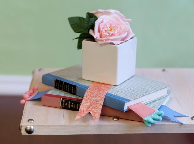 Ribbon Bookmarks Finished DIYs