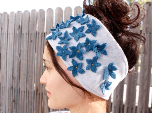 Fleece Headband from Delia Creates