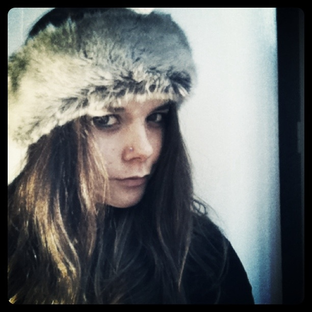 Faux Fur Headband from Marly Made
