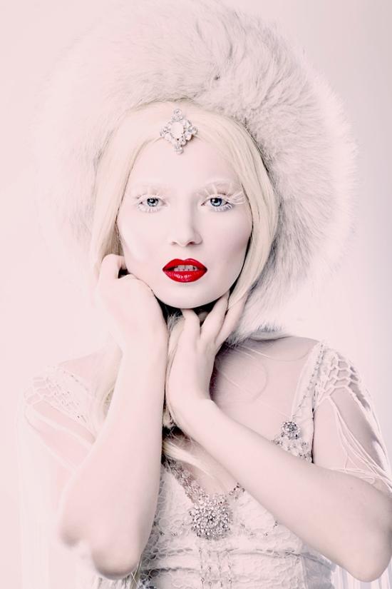 Doe Deere as Ice Queen