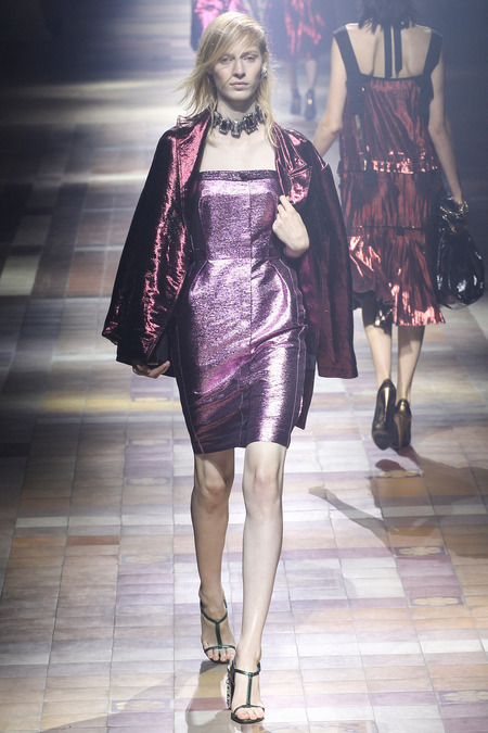 Radiant Orchid Dress Lanvin SS 2014