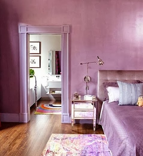 Radiant Orchid Walls