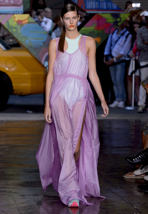 DKNY Radiant Orchid Dress