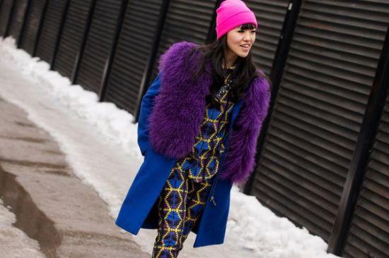 Rachel Effendy with Purple Stole