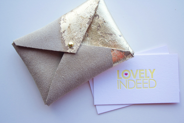 Lovely Indeed Business Card Holder