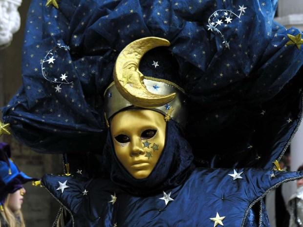 Celestial Venetian Mask