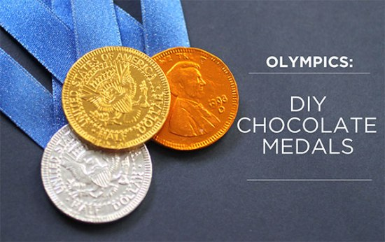 Olympic Chocolate Medals