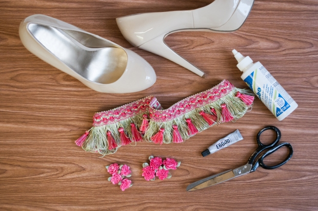 Materials for Tassel Fringe Pump