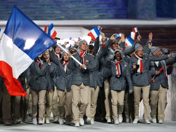 Sochi Olympics Opening Ceremony France