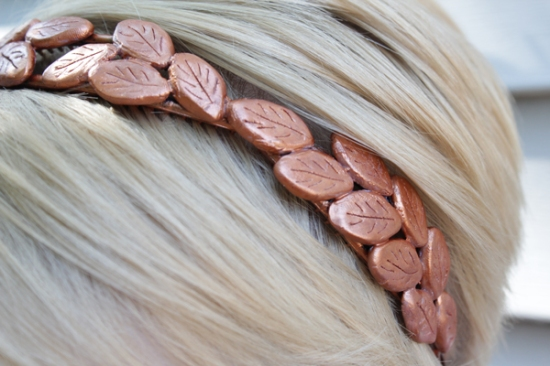Bronze Laurel Headband