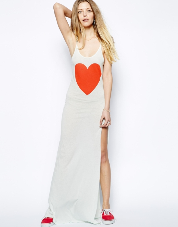 Heart Maxi Dress from Wildfox