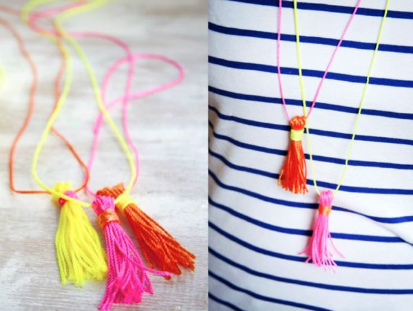 The Sweetest Occasion Tassel Necklace