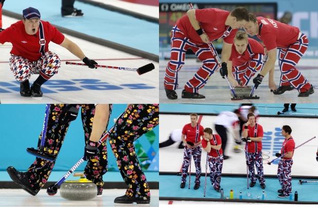 Norway Curling Team Pants