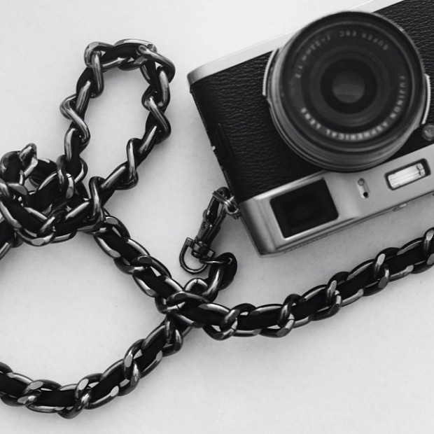 Sketch 42 Film Noir Camera Strap