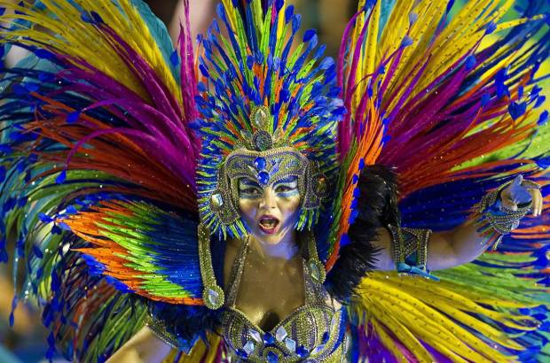 Brazil Carnival Headdress