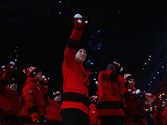 Canadian Fashion at Sochi Olympics Opening Ceremony