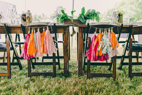 Tassels for Party Decor and Weddings