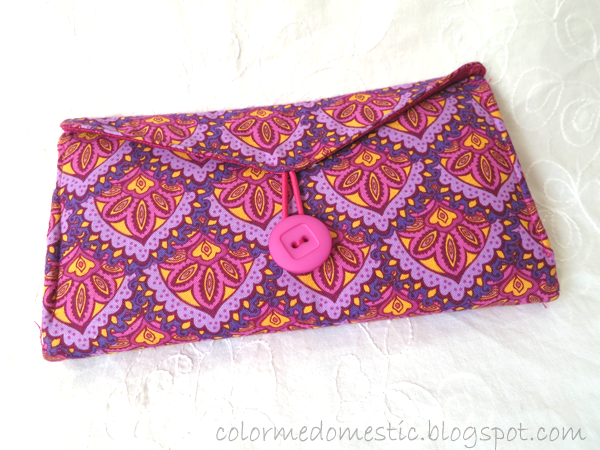Color Me Domestic Fabric Wallet