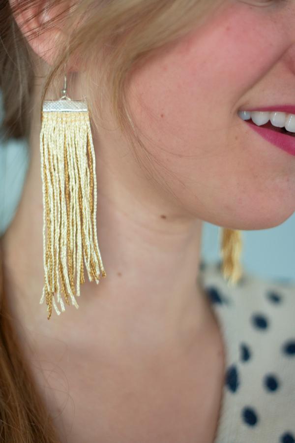 The Alison Show Fringe Earrings