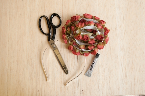 Materials for Flower Headband