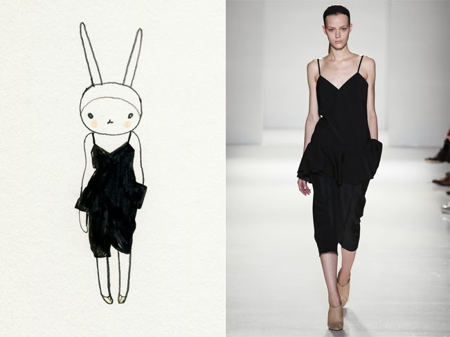 Fifi Lapin in Victoria Beckham