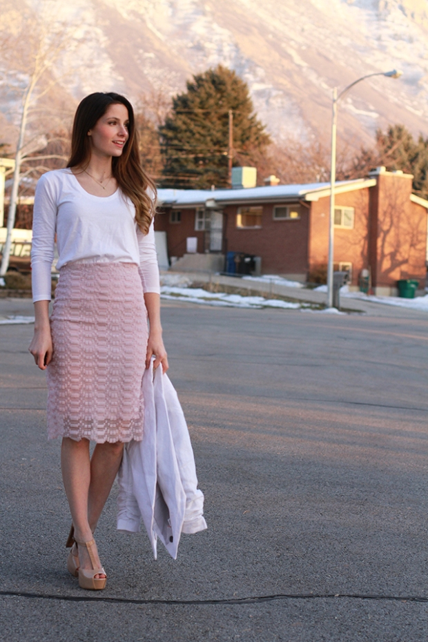 Lace Skirt from Cotton and Curls