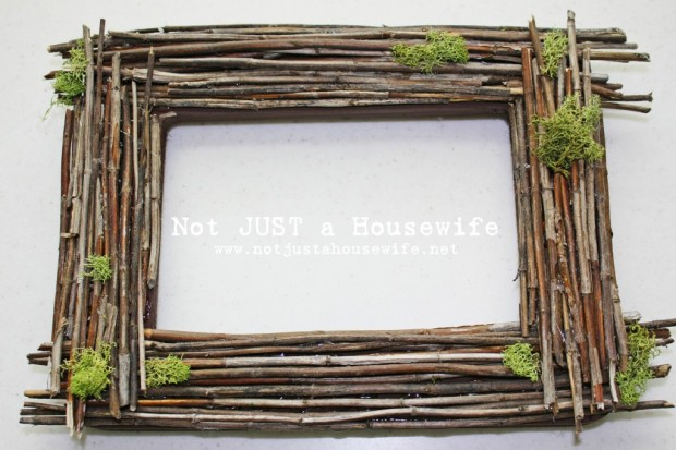 Twig Frame from Not Just a Housewife