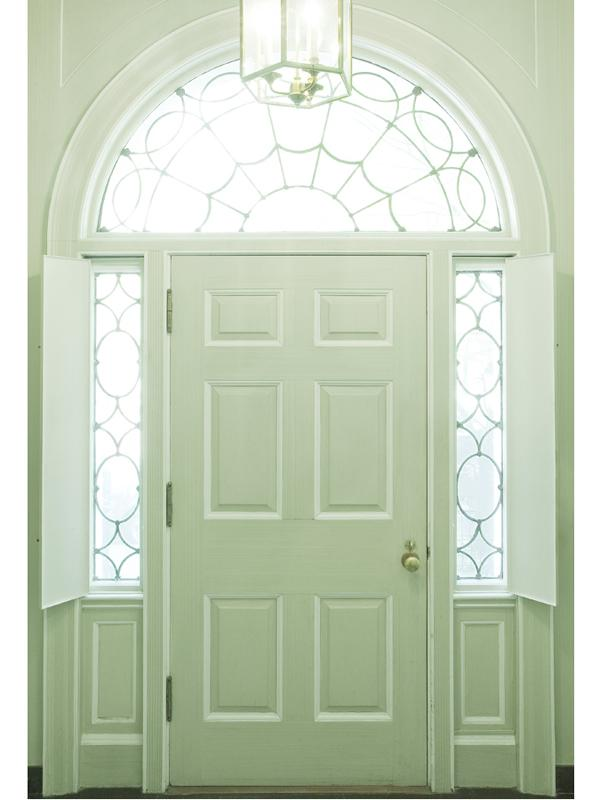 Mint Green Doorway