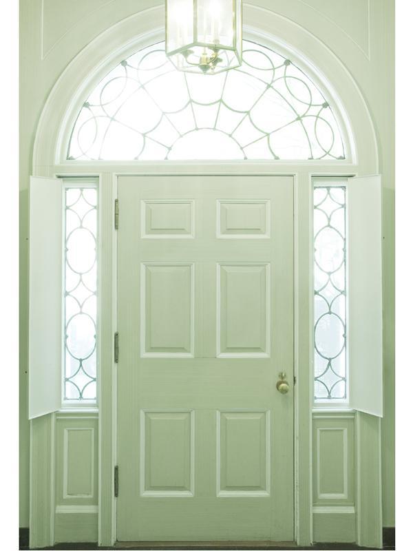 Mint Green Doorway