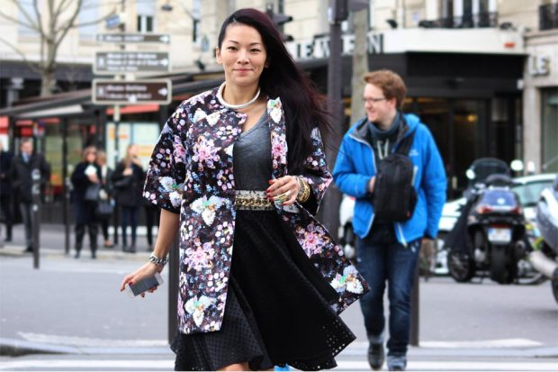 Floral Coat and Dress