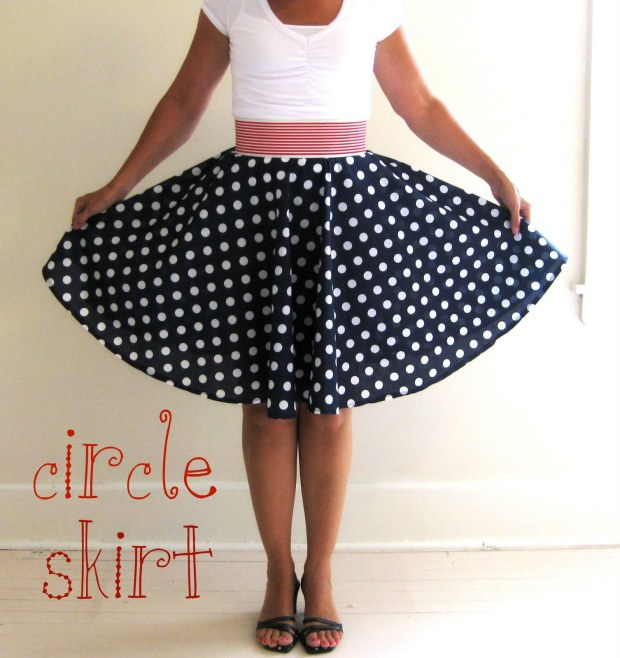 Circle Skirt DIY from My Pink Life