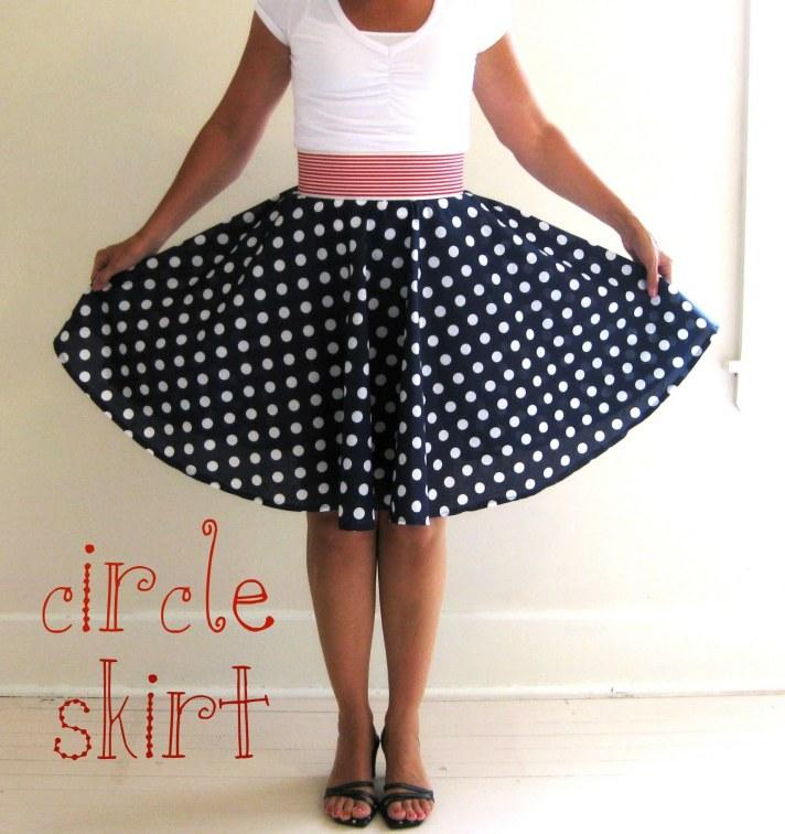 Circle Skirt DIY from My Pink Life