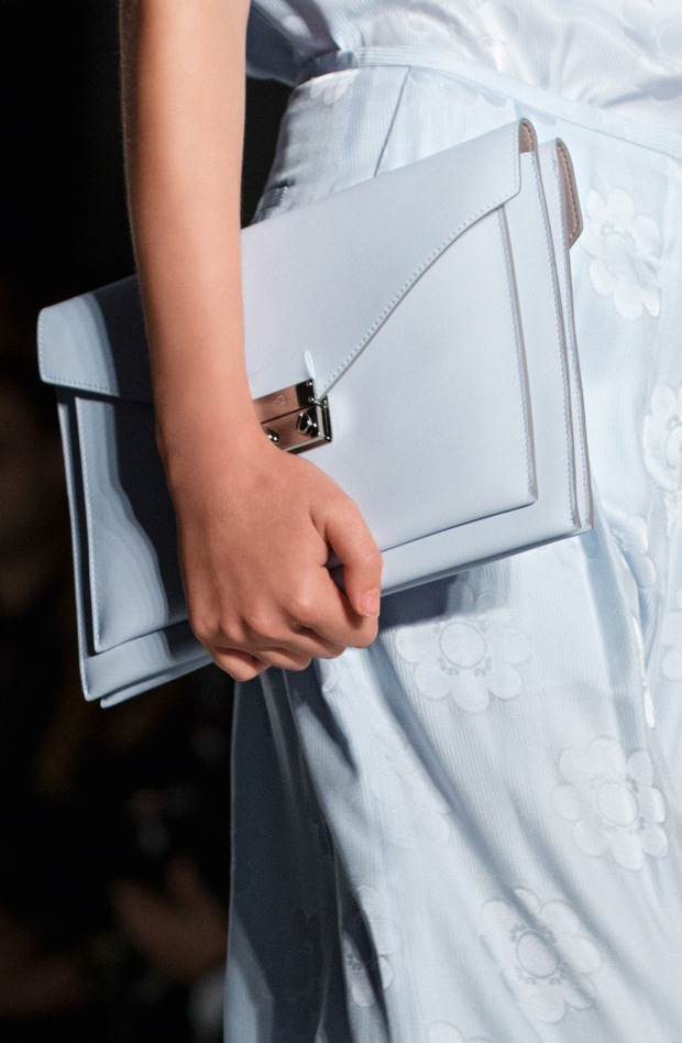 Mulberry Pastel Blue Bag SS2014
