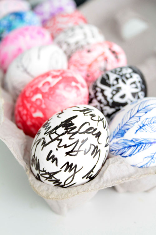 Scribbled Journal Eggs
