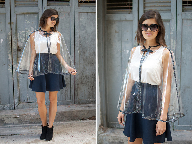 Transparent Capelet from a Pair and a Spare