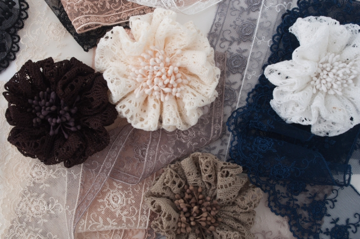 Crochet Flowers and Lace