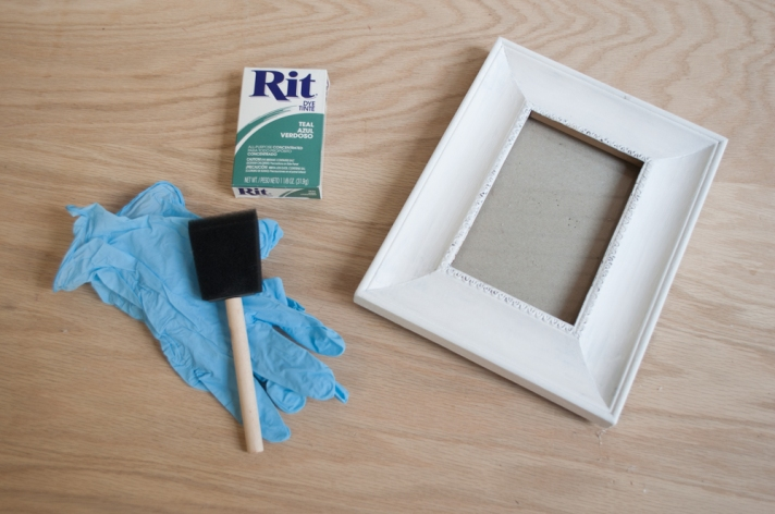 Materials for Ombre Frame