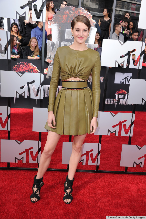 2014 MTV Movie Awards - Shailene Woodley