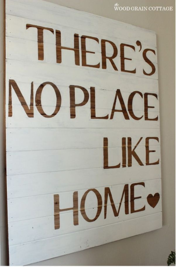 Woodgrain Board Quote DIY