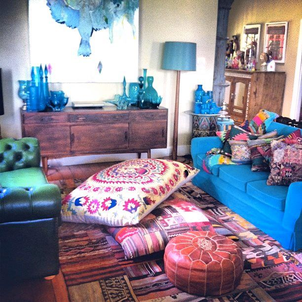 Beautiful Morrocan Living Room
