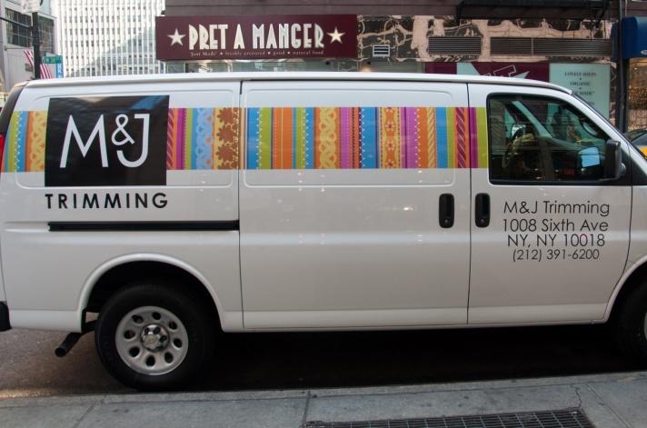 M&J Trimming Van
