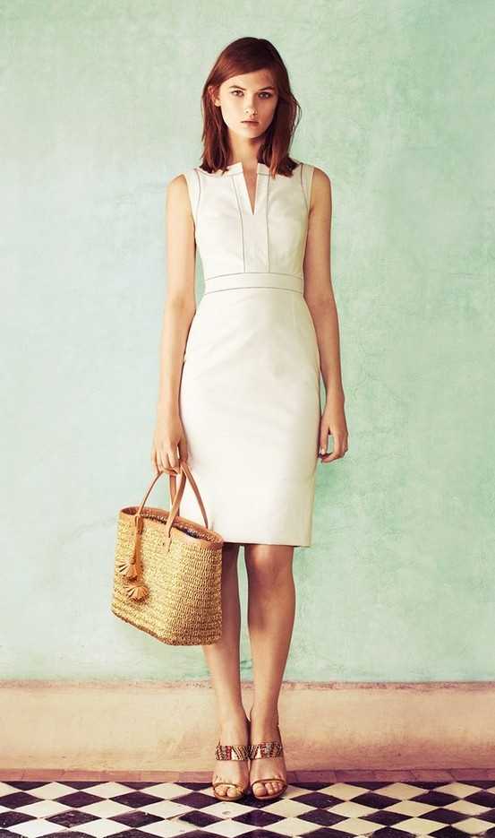 Tory Burch White Dress