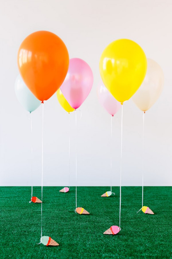 DIY-Ice-Cream-Cone-Balloon-Weights3-600x900