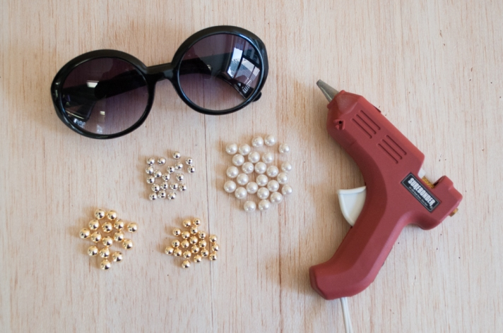 Materials for Pearl Accented Sunglasses