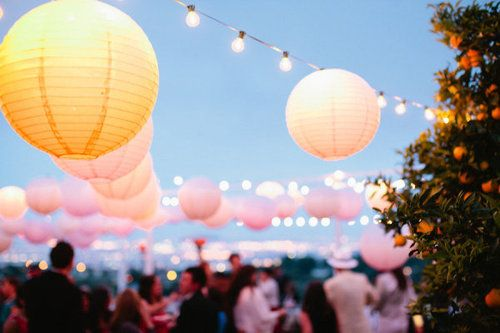 Summer Party Paper Lanterns
